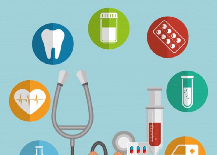 cuidado salud medica iconos conjunto 24877 27179