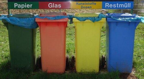 Consejos de reciclaje para separar objetos