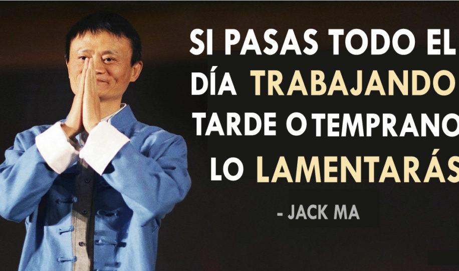 Valiosos consejos de Jack Ma